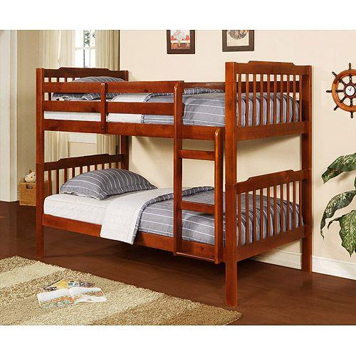 Home Wood bunk beds, Homemade bunk beds, Bunk beds