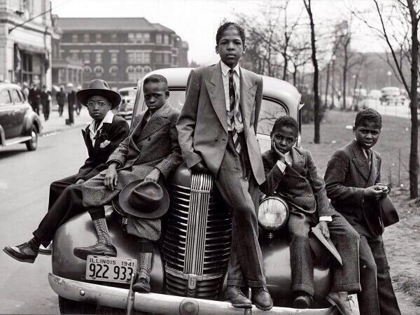 Niños de Chicago 1941