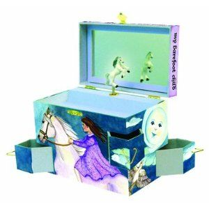 Discover Your World Music Jewelry Box by Enchantmints Musical