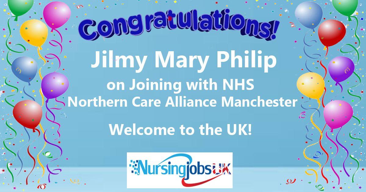 Congratulations Dear candidate. Team NursingjobsUK wishes