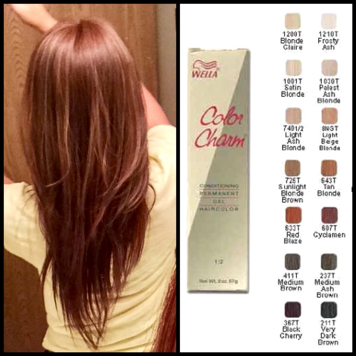 My Favorite Affordable Hair Dye Brand Wella Color Charm