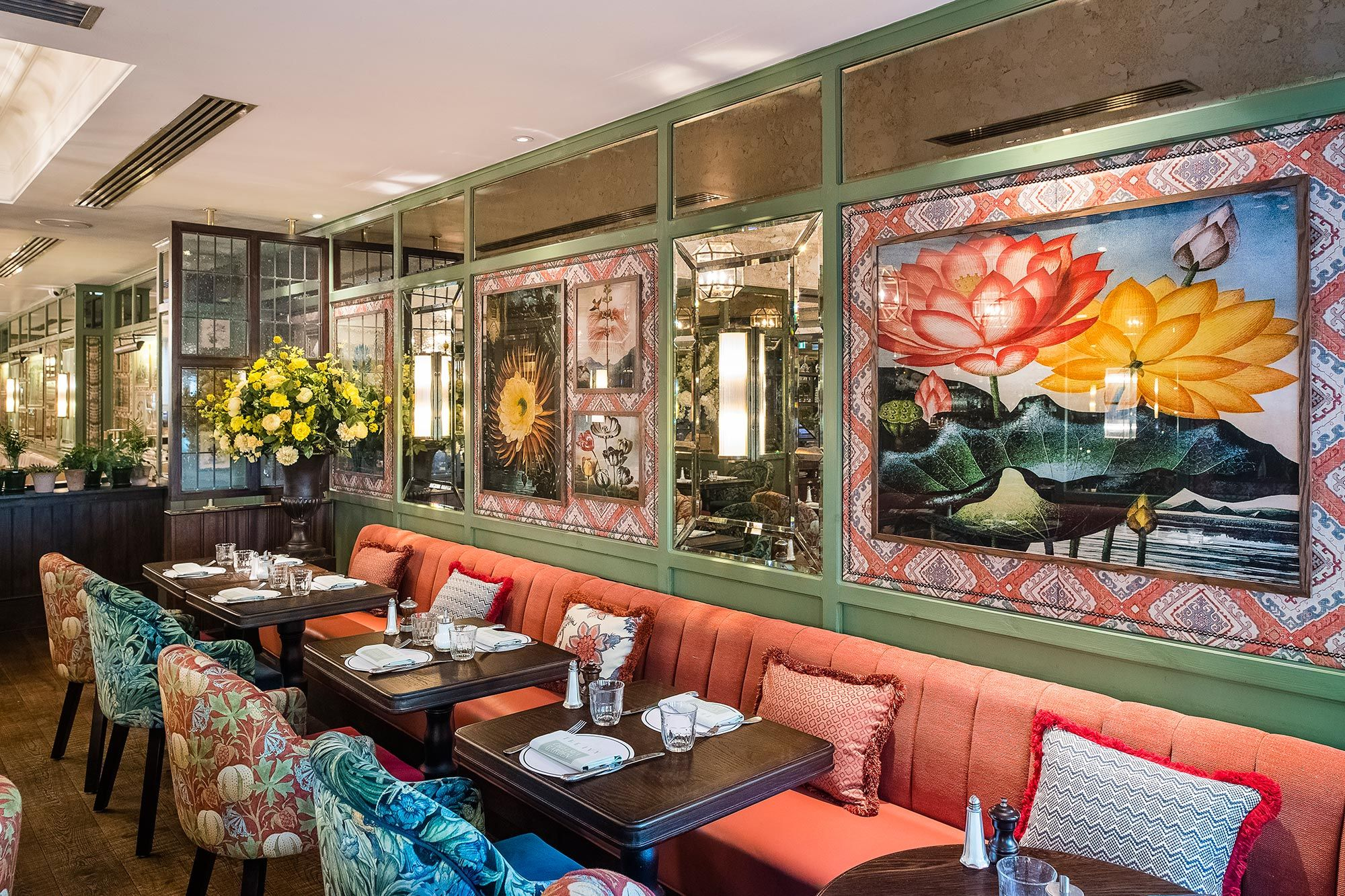 London Chelsea garden, The ivy chelsea, Ivy restaurant