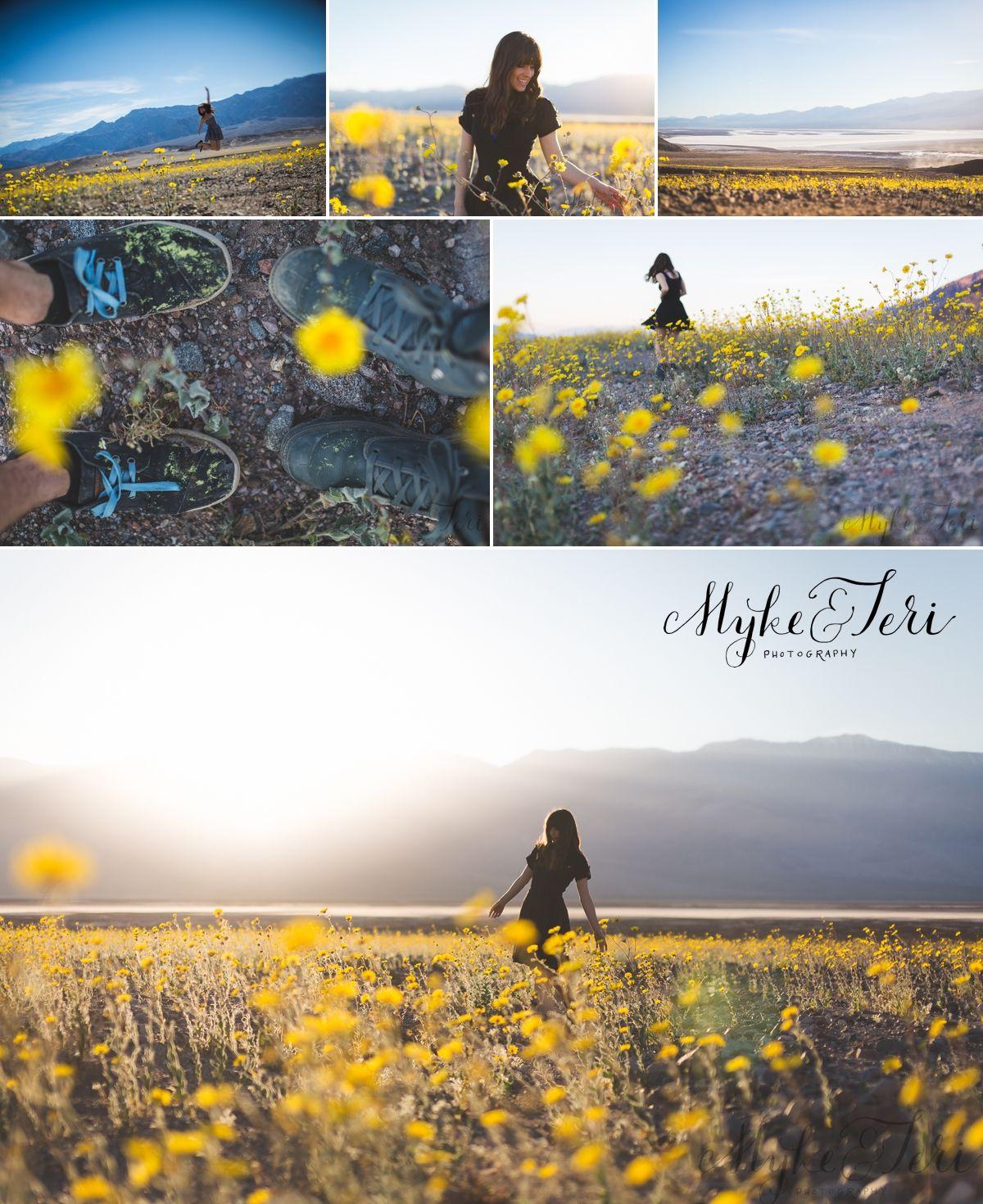 Super Bloom Phenomena In Death Valley Yellow Flowers Unbelievable