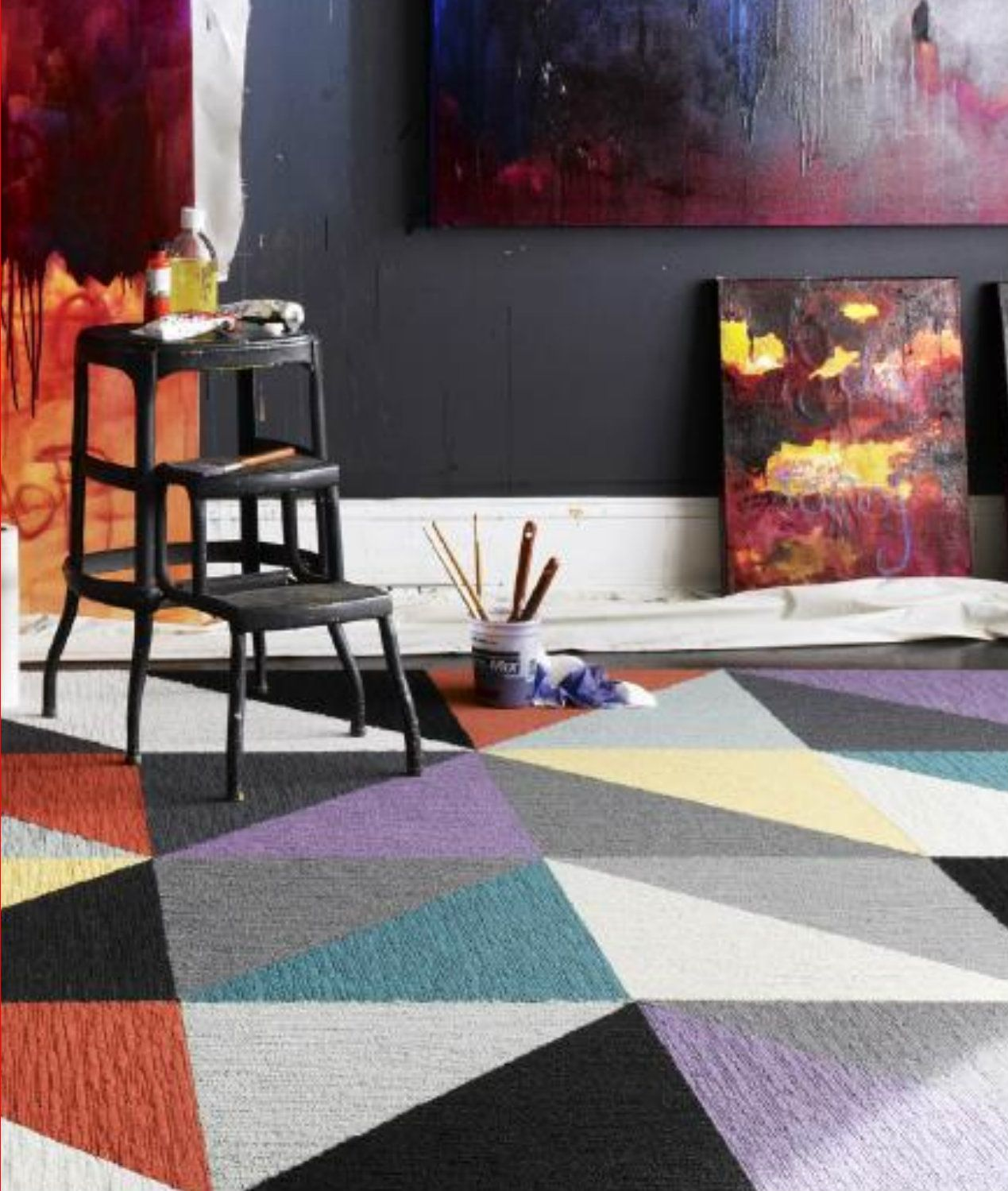 Interior House Ideas Flor Carpet Tiles Are Usamade Amp