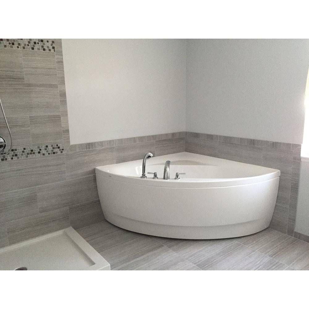 Olivia 55 Inch Acrylic Corner Bathtub Bathrooms Bathroom Tub
