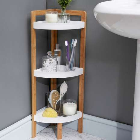 Elements Bamboo 3 Tier Corner Caddy This Should Give Me A Head