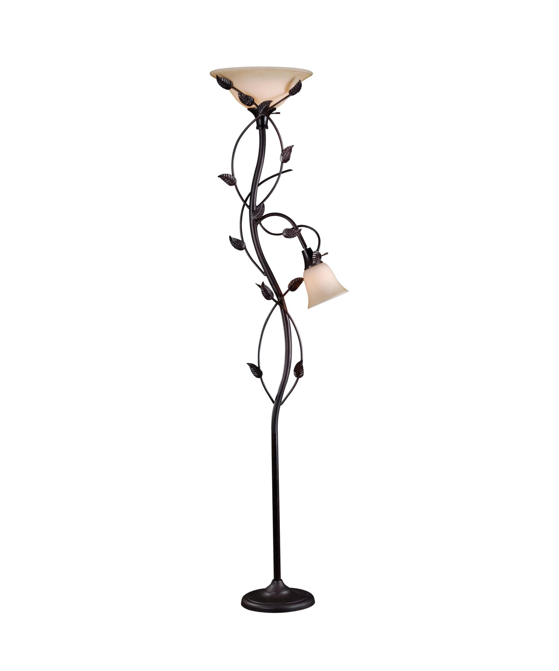 Ashlen 72 Inch Torchiere Lamp by Kenroy Home Floor lamp
