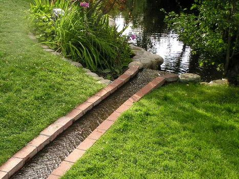 Drainage Ideas For Backyard great idea for gutter drainage gutter drainiage greendreams By Fight Erosion In Your Landscape With Good Drainage