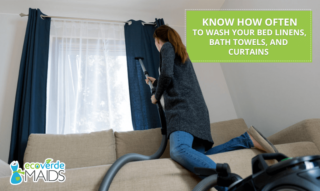 Know How Often to Wash Your Bed Linens, Bath Towels, and