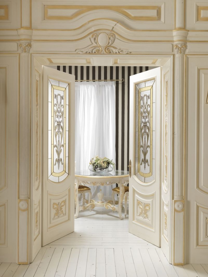 Luigi xvi luigi xvi classic wood interior doors italian for Luxury classic interior design