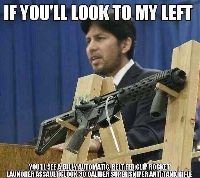 Image result for media  & guns  meme