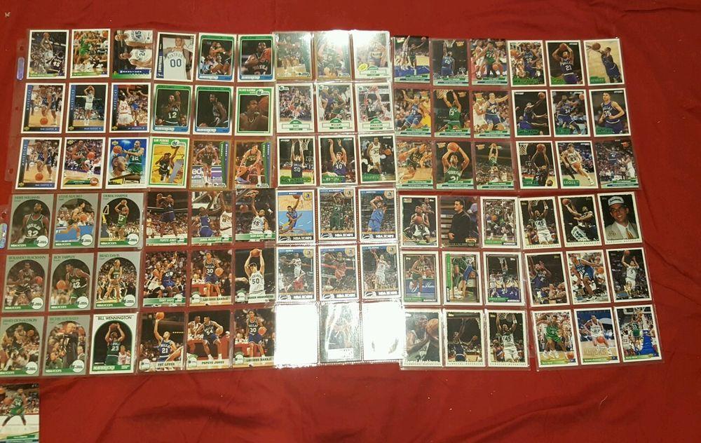Basketball Card Lot Dallas Mavericks 91 Cards No Duplicates Stars Rookie HOF #DallasMavericks