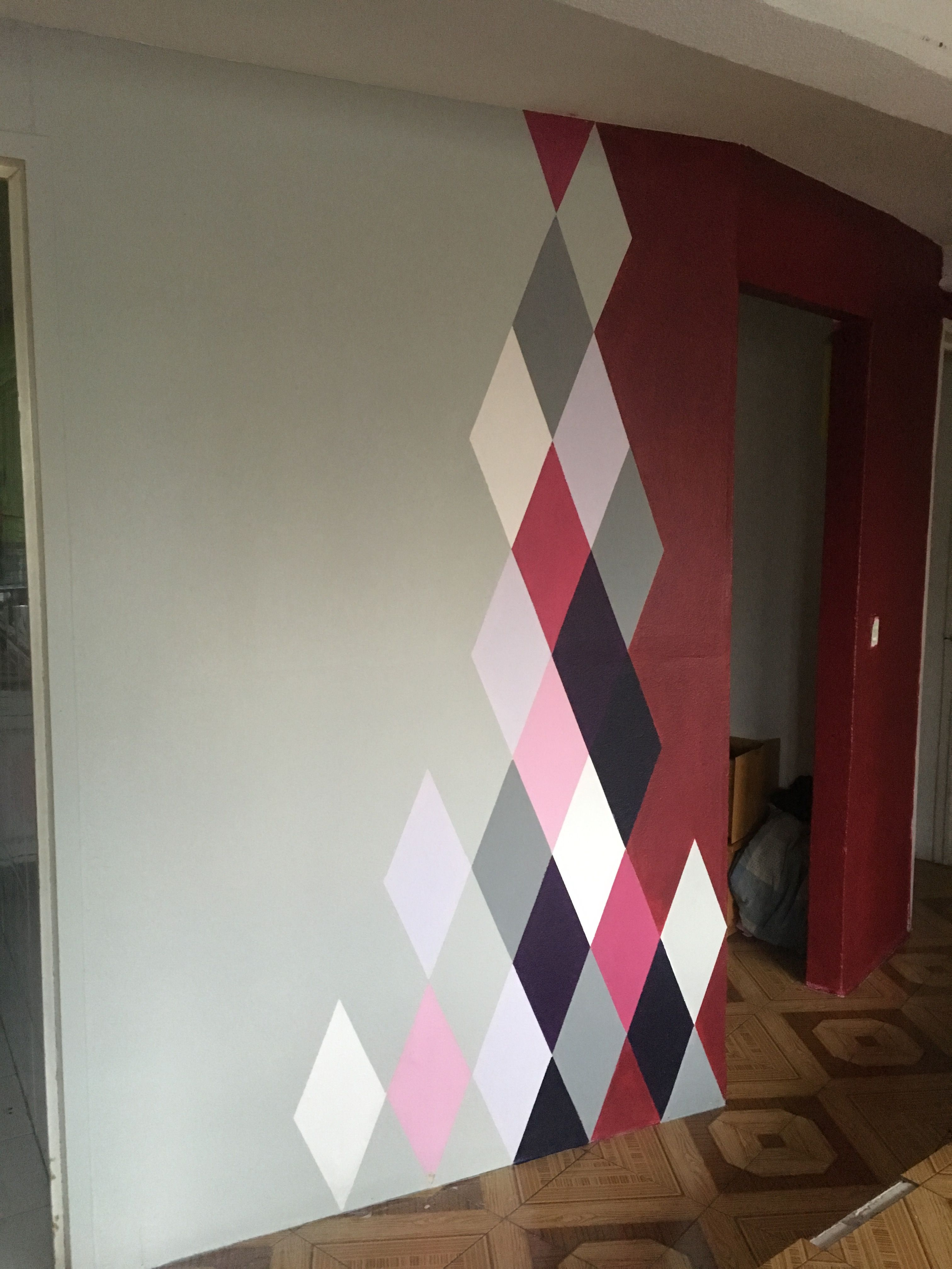 Acabado Perfecto Diy Wall Painting Geometric Wall Paint Room Wall Painting
