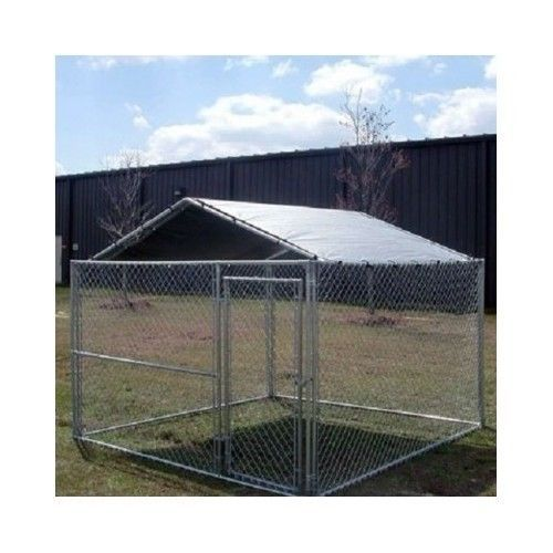 Dog Kennel Cover Outdoor Cage House Roof Canopy Pet Pen
