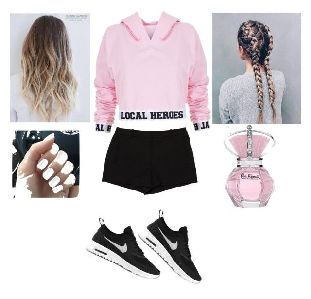 """""""Untitled #6"""" by sissylynn04 on Polyvore featuring Local Heroes, L'Agence and NIKE"""