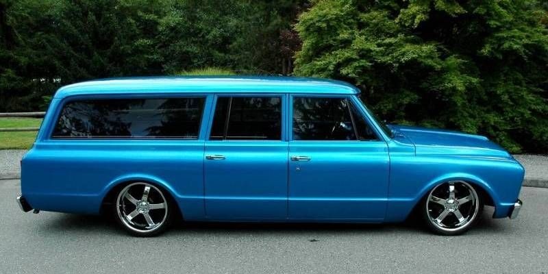 Custom 1967 Gmc Suburban Wagon Over 10 000 Remarkable Cars And