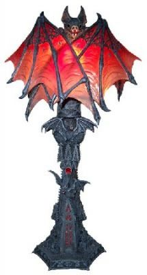 Reptile Forums   View Single Post   W Midlands Gothic Collectables Bat, Dragon  Lamps And
