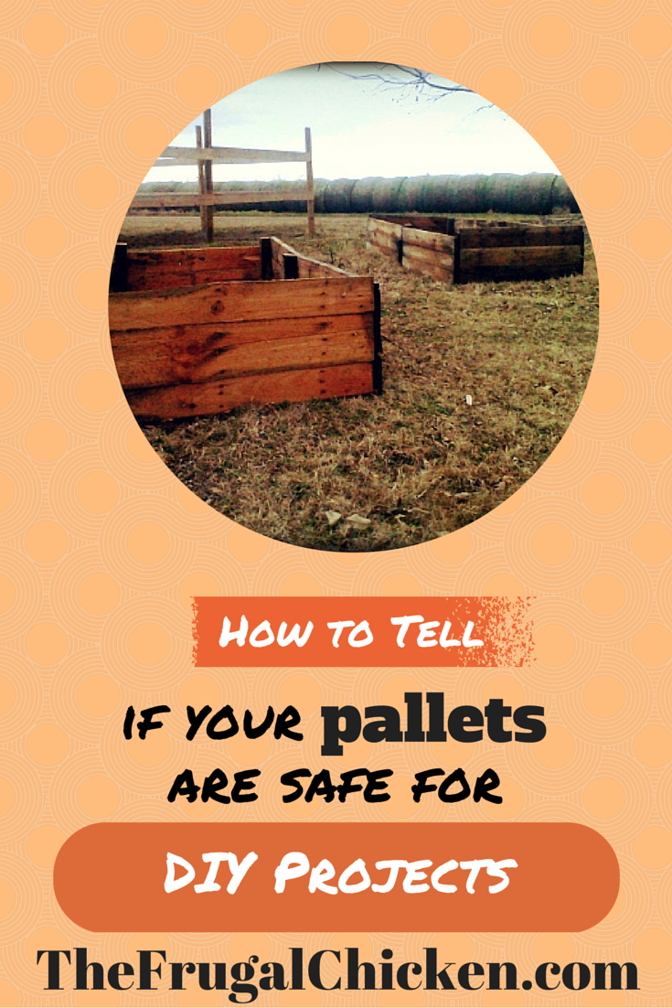 Pallet projects rock, but sometimes those pallets contain harmful chemicals. Here's how to tell if your pallets are safe or if you should toss them. From FrugalChicken