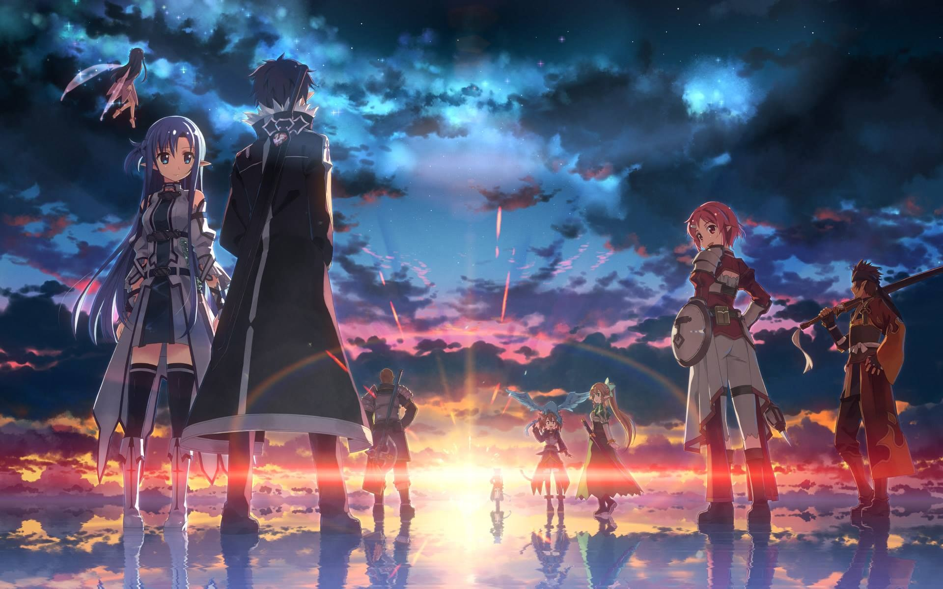 Sword Art Online Copyright Artist Source Pixiv アニメイラスト アニメの風景 ソードアートオンライン