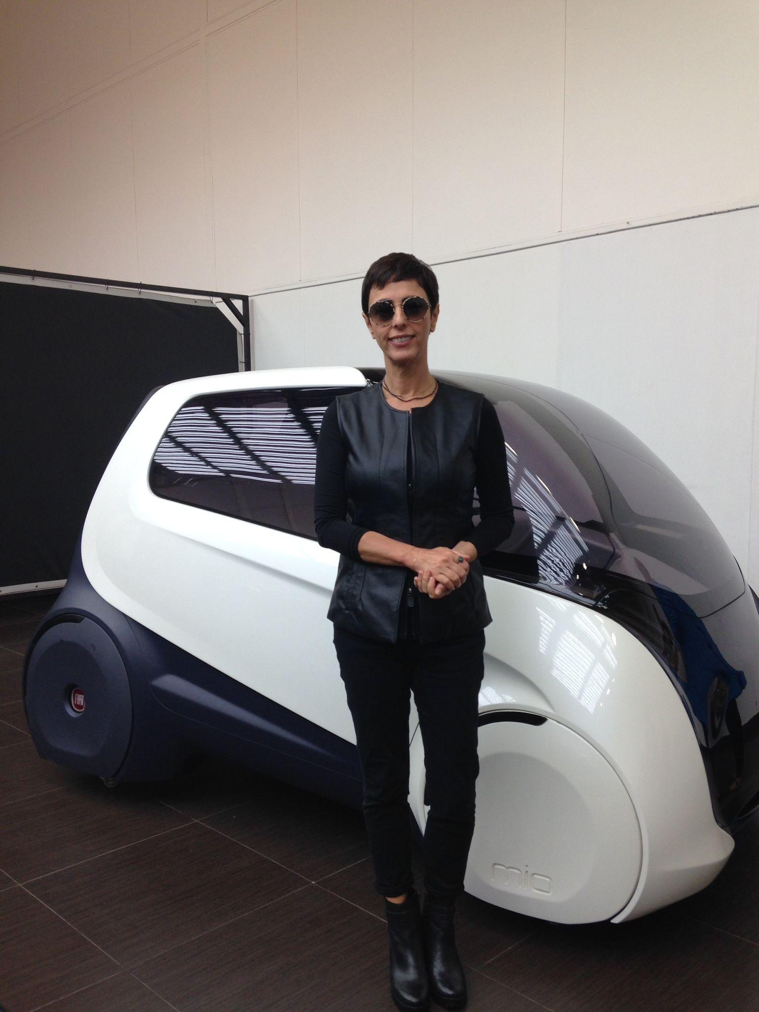 Meu look carro do futuro