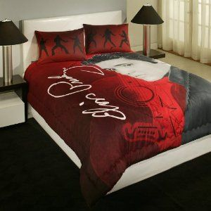 Elvis Presley Queen Comforter Set