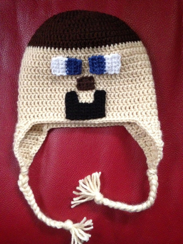 Gorro em Crochê Jogos Padrões -   Games Clothes Beanie in Crocheting  Standards - e4d5c185d3a