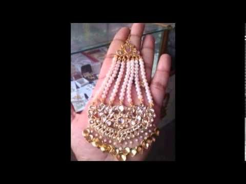 Ruby Pearl Jhoomar Bridal Choice Gold And Silver Collection