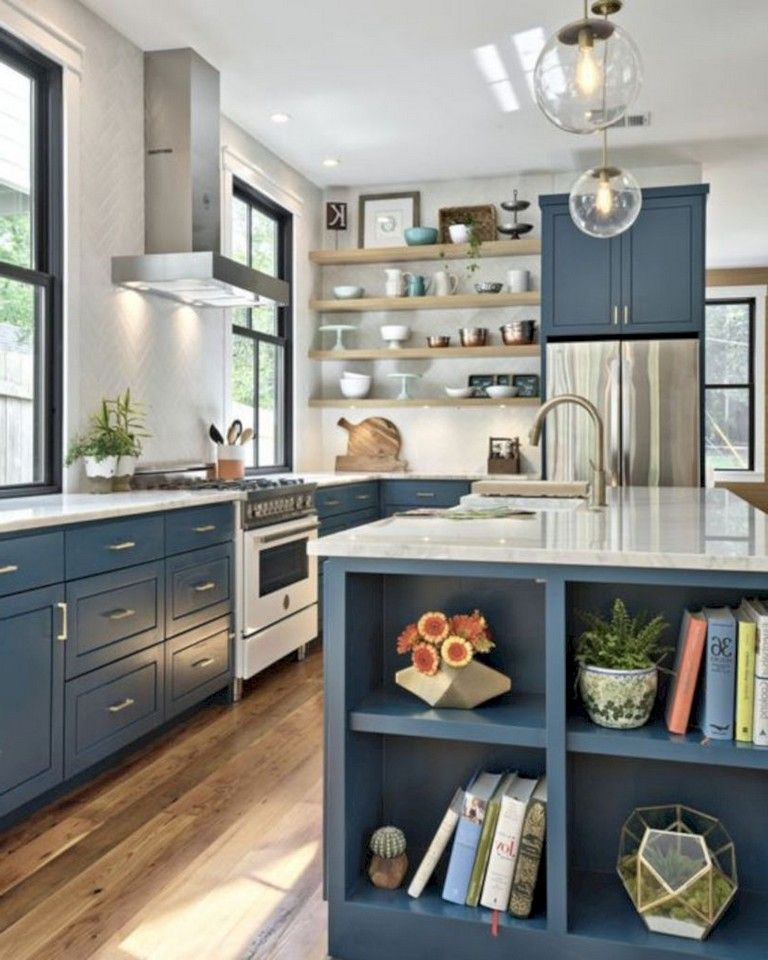 European Style Kitchen Remodeling Ideas: 30 Cheap Budget To Kitchen Makeover For Home Decor