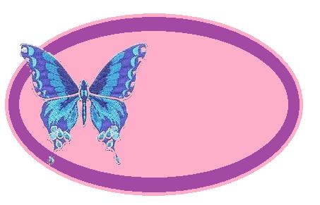 modrý motýlik