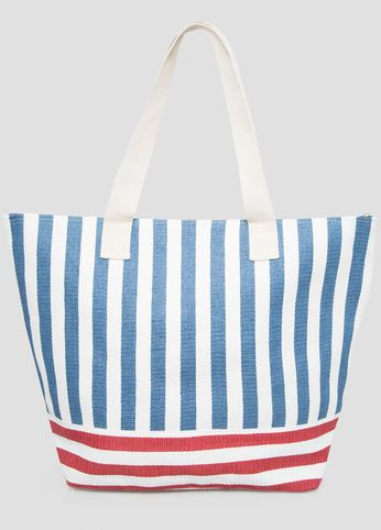 Large Americana Stripe Tote, click here http://fave.co/1qw5Wlf
