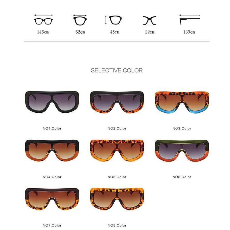 Occhiali da sole D marchio di lusso da donna design quadrato oversize Sfumature Occhiali Da Sole