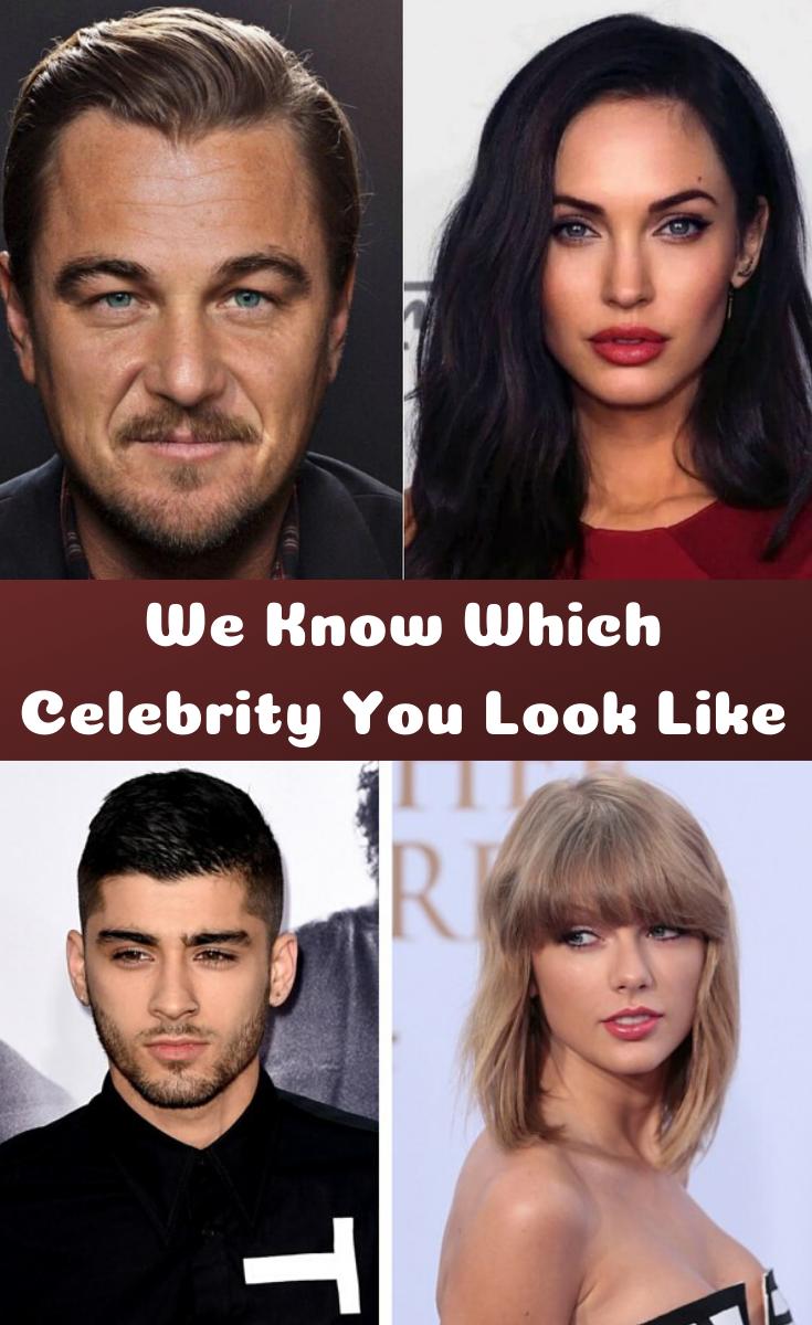 Celebrity Look Alike Quiz Male : celebrity, alike, Which, Celebrity, Alike,, Celebrities,
