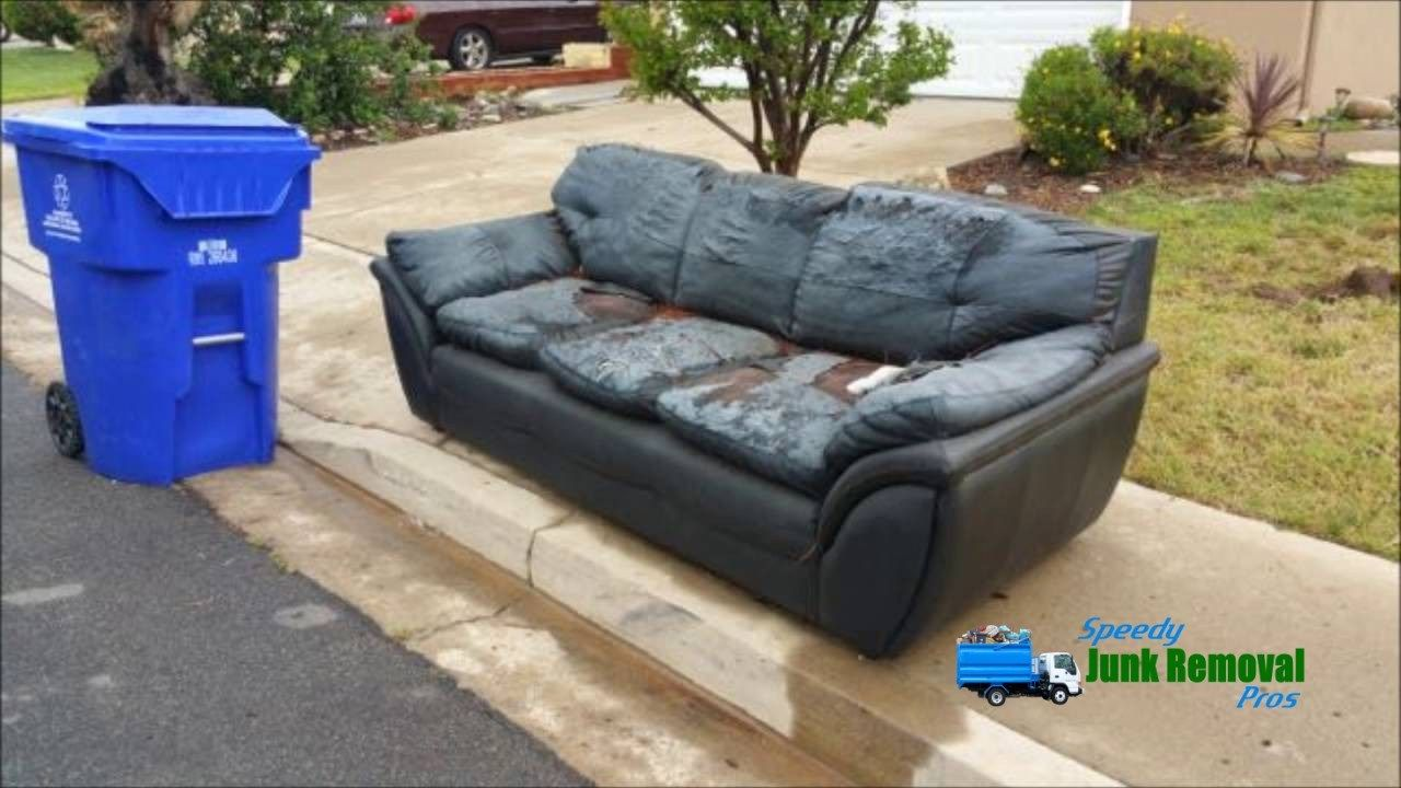 Remove The Most Unwanted Items Speedy Junk Removal Pros Junk Removal Cool Couches Furniture Disposal