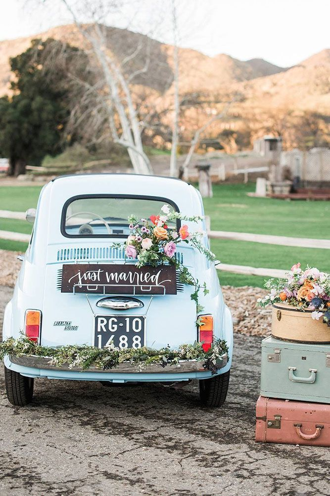 30 gorgeous wedding car decoration ideas pinterest wedding cars 30 gorgeous wedding car decoration ideas pinterest wedding cars wedding car decorations and wedding junglespirit Image collections