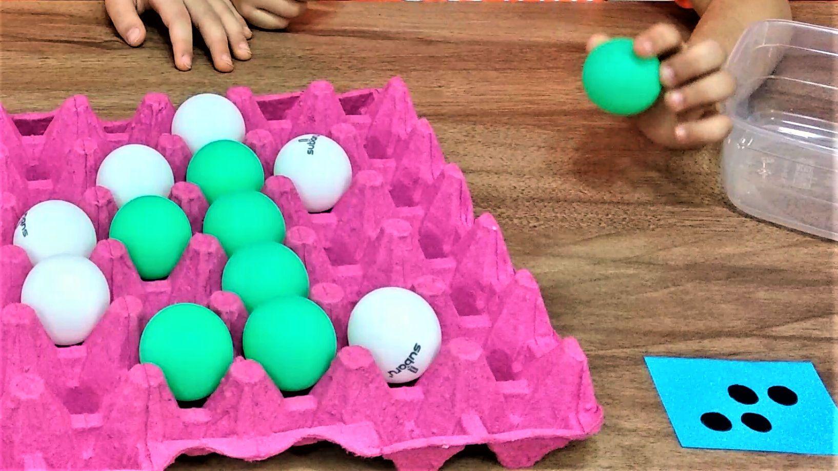 Ev Yapimi Bounce Off Oyunu Yumurta Oyun Oyun Evleri