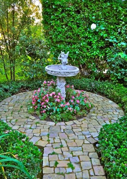 36 Ideas Garden Diy Fountain Focal Points Diy Garden 400 x 300