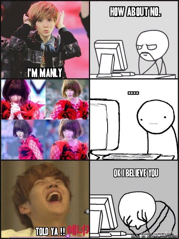 Suho unni why so pretty | allkpop Meme Center | EXO | EXO ...