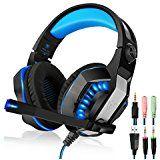 Amazon com: WONER GM-2 Gaming Headset, 3 5mm Stereo Cool Comfortable