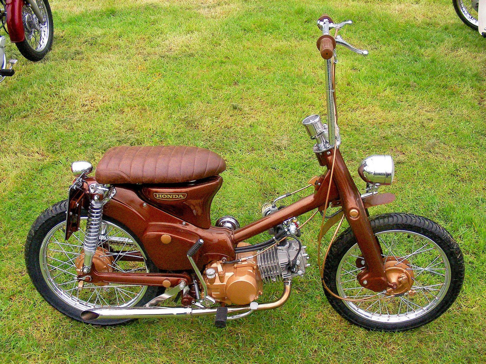 Honda C90 Dream Camper Bus Honda Honda Bikes Honda Motorcycles