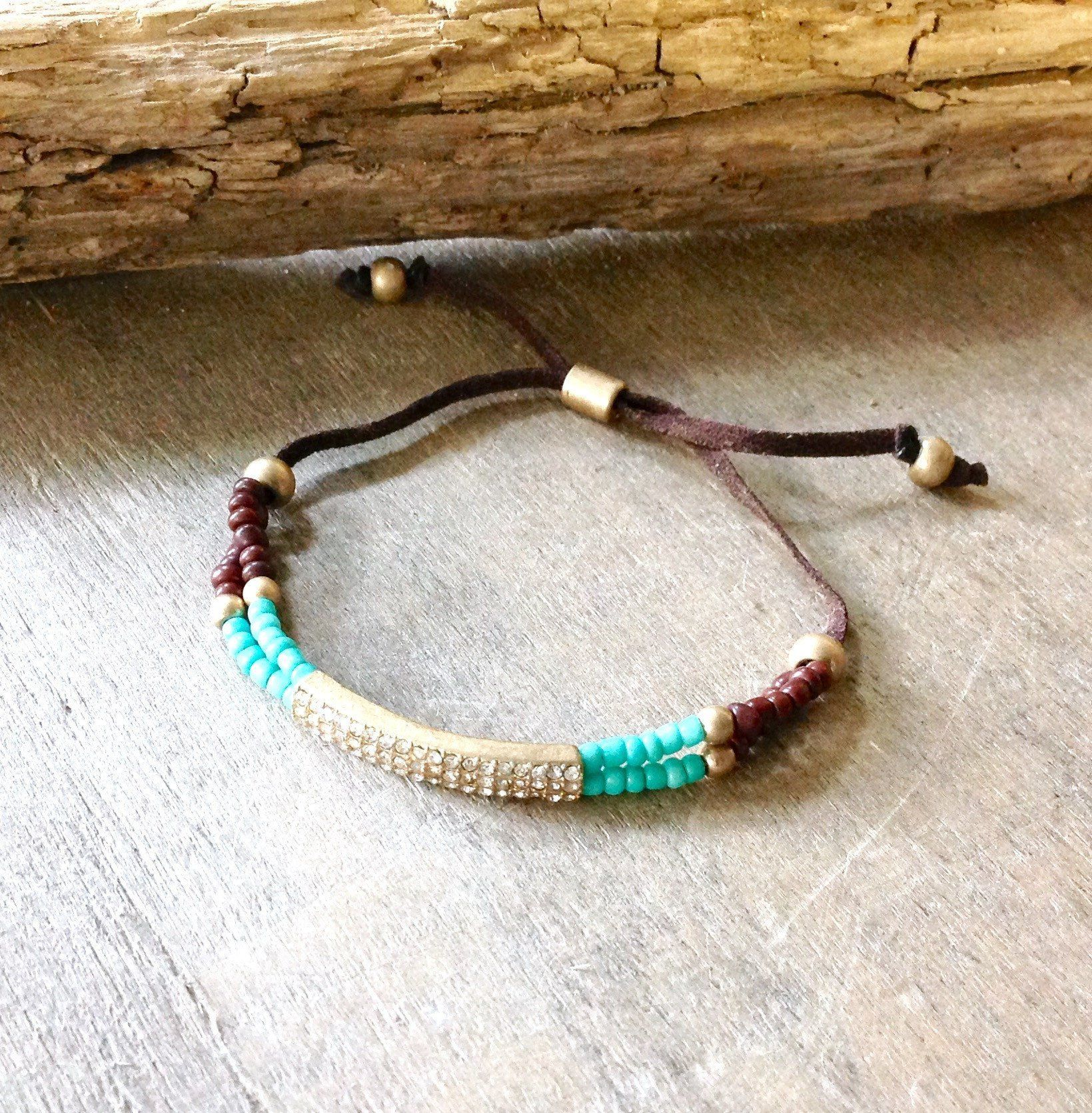 to string beaded anklet tutorial free on craftsy jewelry bead seed article bracelet of how bracelets make