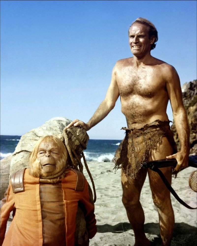 Charlton Heston In Planet Of The Apes Directed By Franklin