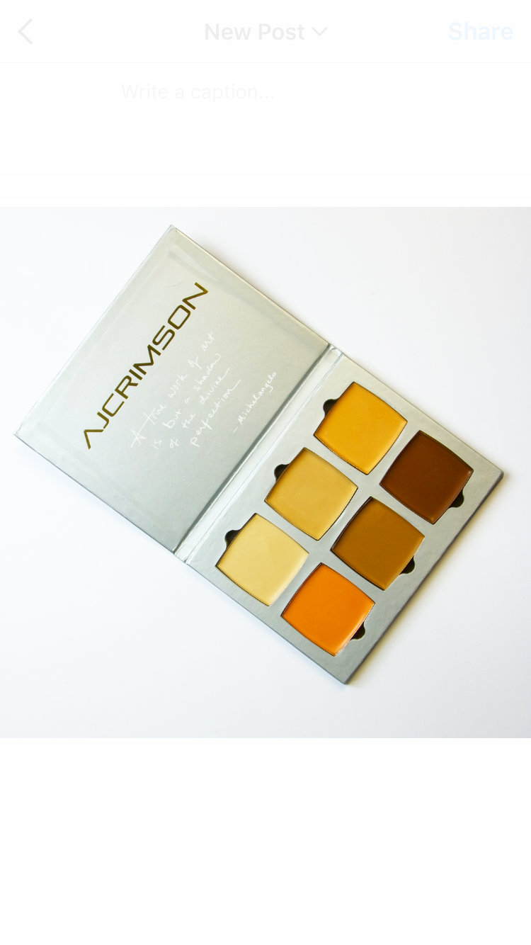 Artist Kit - Special* Dress Your Face Curated Shades (limited edition)