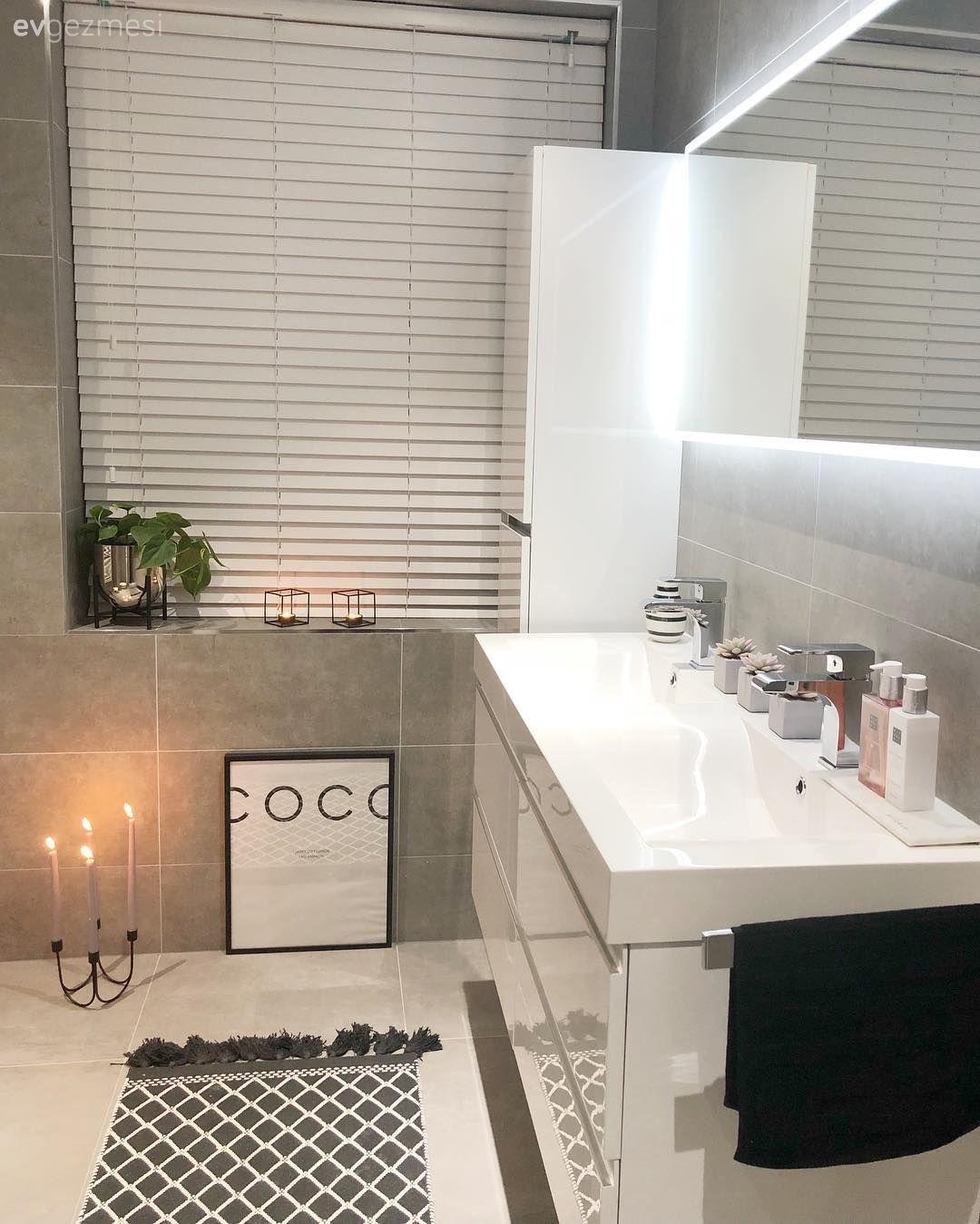 Satır Aralarında Pembeler Bu Modern Eve Sıcak Zerafet Katıyor | Ev Gezmesi Banyo