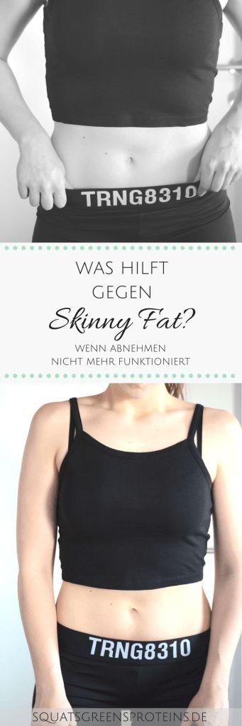 """Was hilft gegen Skinny Fat? Was tun, wenn du zwar normalgewichtig, aber irgendwie trotzdem nicht richtig sportlich bist? Diese Tipps gegen das """"Skinny Fat"""" Phänomen werden dir weiterhelfen! by Squats, Greens & Proteins"""