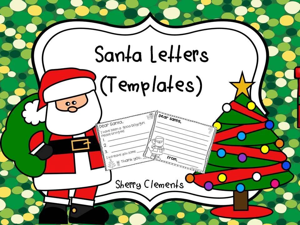 Santa Letters (Templates) Santa letter template, Letter - character letter templates