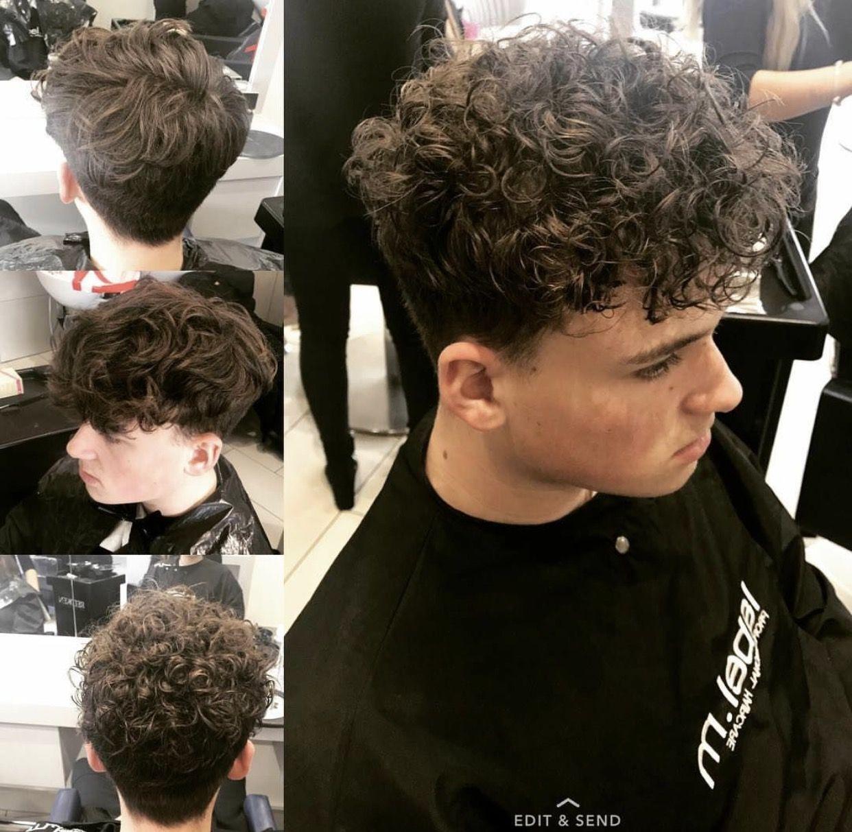 Male Perm Perm Hair Men Curly Hair Men Permed Hairstyles