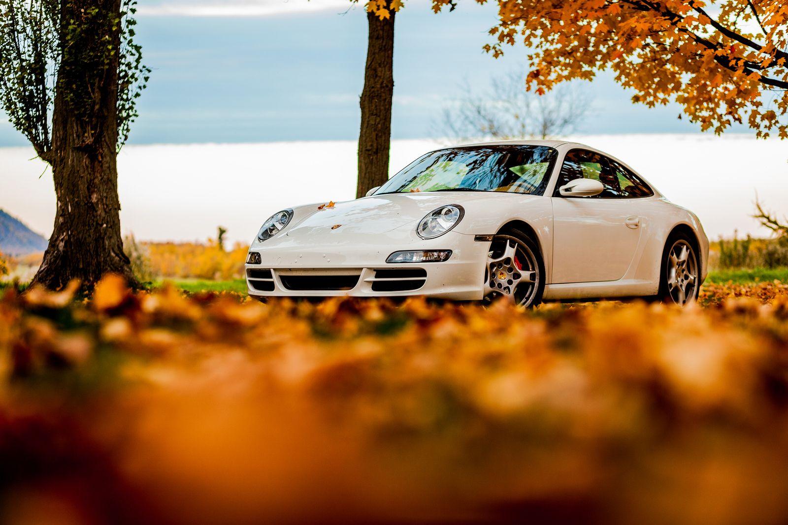 Autumn Porsche In 2020 Car Wallpapers Porsche Porsche 911