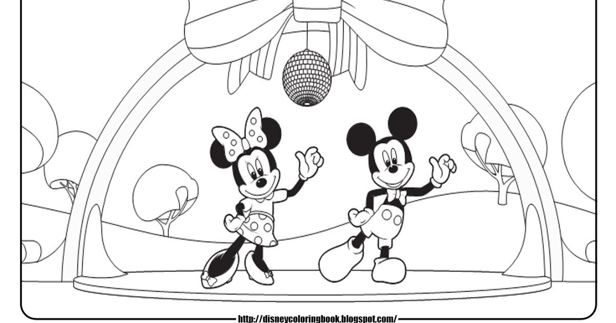 10 gambar mewarnai mickey mouse terbaik 2020