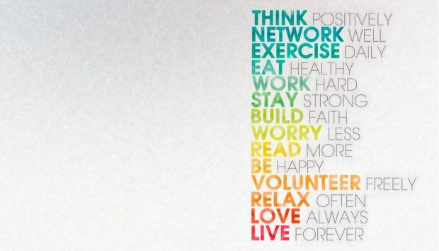 Think Positive Always Wallpaper