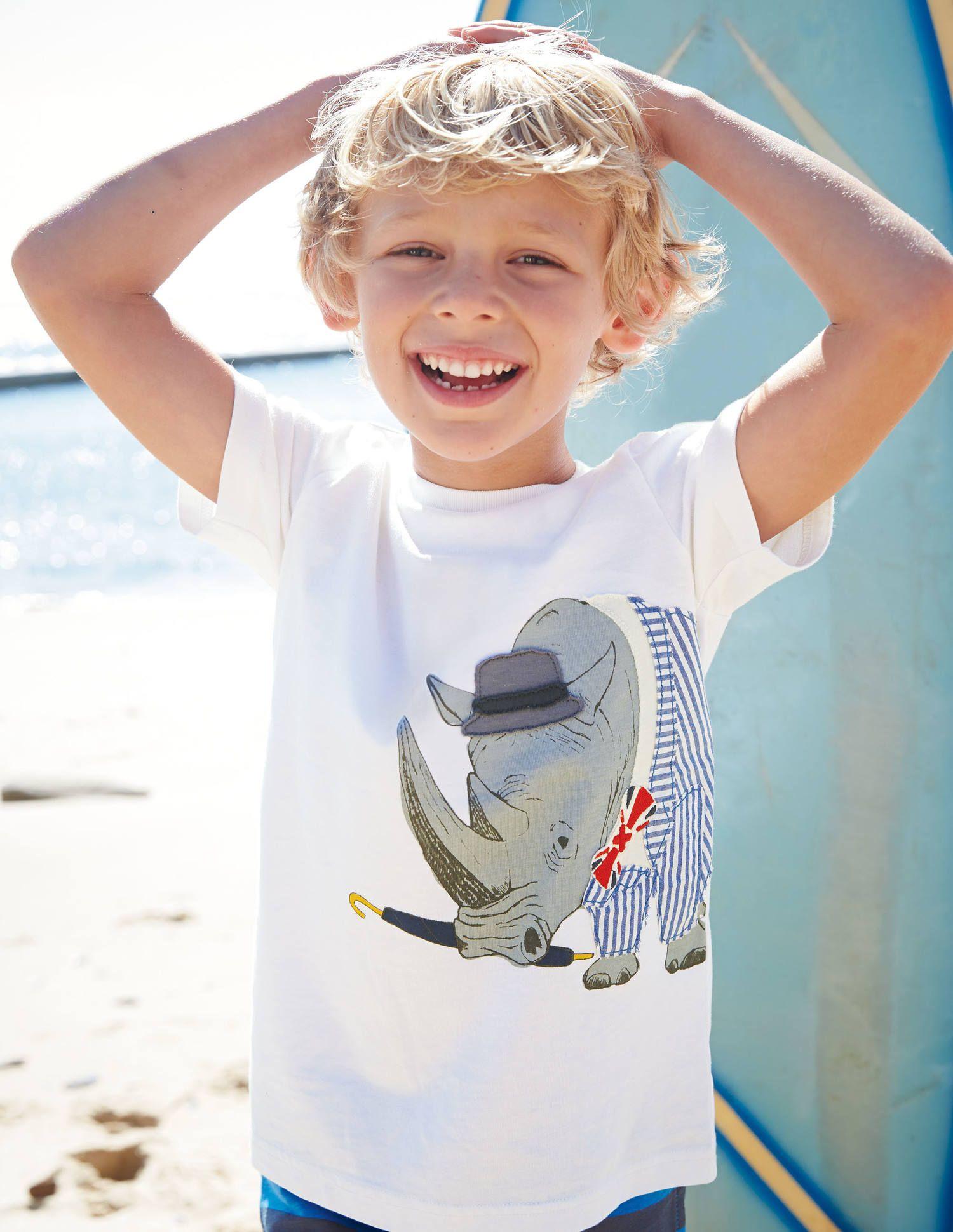Mini Boden Summer Appliquee T-Shirt. #SS15   Mini Boden ...